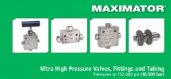Ultra High Pressure Valves, Fittings and Tubing